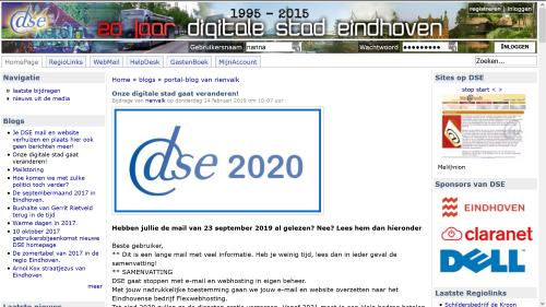 DSE slaat nieuwe weg in